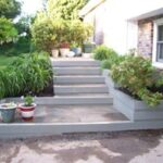Hardscape Steps with Landscaping